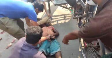 বিয়ানীবাজারে ট্রাক থেকে পড়ে ট্রাক শ্রমিক নিহত